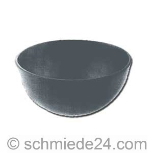 Picture of hollow steel half ball 55480
