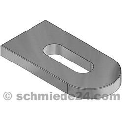 Picture of weld-on bracket 93502