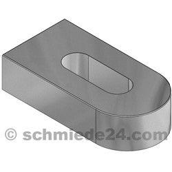 Picture of weld-on bracket 93503