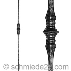 Picture of wrought iron rod 11290