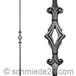 Picture of wrought iron rod 11410