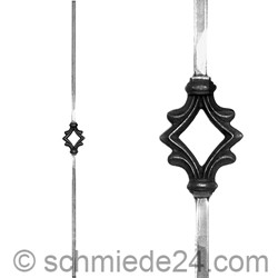 Picture of wrought iron rod 11450