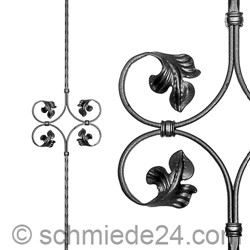 Picture of baroque ornamental rod 13190