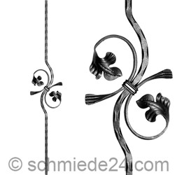 Picture of baroque ornamental rod 13055