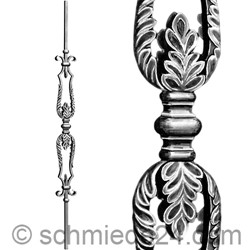 Picture of wrought iron rod 15502