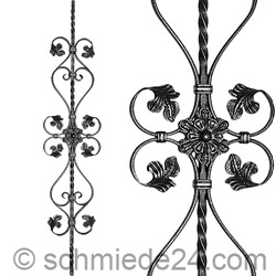 Picture of baroque ornamental rod 13061